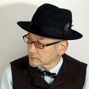 秋 冬 Bailey  中折れハット フェルトハット ウールフェルト 帽子 中折れ ベイリー ハット メンズ レディース インポート 黒 ブラック elehelm-hatstore