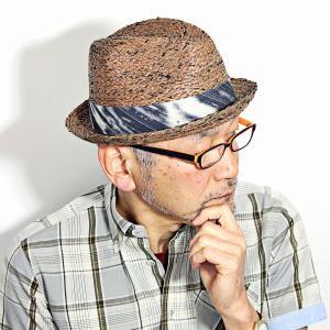 ブルックリンハット ラフィア ハット 中折れ リゾート 帽子 BROOKLYN HAT 麦わら帽子 メンズ レディース ストローハット 春 夏 茶 ブラウン|elehelm-hatstore
