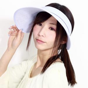 SIMPLE LIFE サンバイザー 春 夏 レディース ツバ広 バイザー 紫外線対策 UV対策 帽...