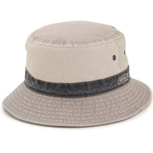 UV カット コットン 帽子 メンズ レディース サハリ ハット 紫外線 予防 ユニセックス 春夏 サファリ MISTRAL フランス製 綿 ミストラル ベージュ|elehelm-hatstore
