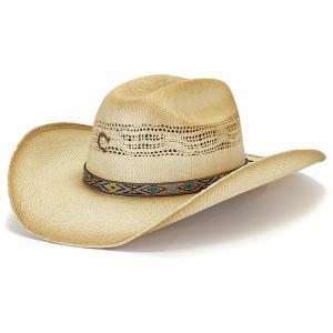 charlie 1 horse テンガロンハット ラフィア ハット メンズ 個性派 レディース ネイティブ チャーリーワンホース 春夏 麦わら帽子 日よけ つば広 ナチュラル|elehelm-hatstore