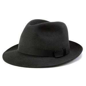 クリスティーズ ファーフェルト ハット CHRISTYS' LONDON Epsom Racing Trilby 秋冬 メンズ 帽子 レディース Bessemer チャコールグレー|elehelm-hatstore