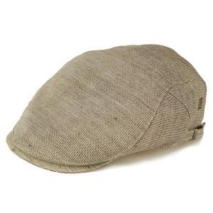510623d98e1 ハンチング 帽子 メンズ メッシュ 通気性 春夏 ダックス 涼しい 生成 ベージュ
