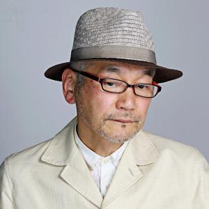 中折れ ハット DAKS 春夏 リネン ニット メンズ 父の日 ギフト ダックス サイズ調整 涼しい 帽子 日本製 麻 大人 おしゃれ ブラウン ベージュ elehelm-hatstore