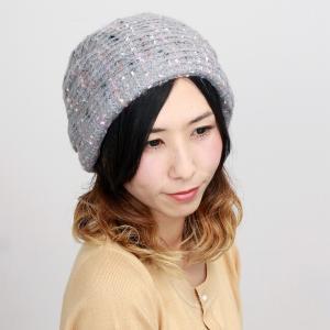 ニット 帽子 ターバン リバージュ エリートシャポー 上品 レディース 室内着用可能 ELITE CHAPEAU グレー|elehelm-hatstore