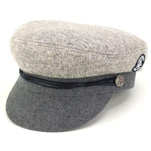 シナコバ CAP マリン ニット SINACOVA マリンキャップ 帽子 秋冬 メンズ/グレー|elehelm-hatstore