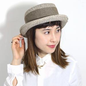リボン カンカン帽 レディース イタリア製 帽子 送料無料 レディース ギフト 母の日 個性的 婦人帽 リゾート 街歩き インポート ベージュ|elehelm-hatstore