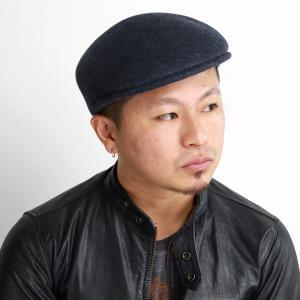 GALLIANO SORBATTI 秋冬 イタリア製 プロムナード ハンチング 帽子 メンズ ハンチング帽 レディース ウール フェルト 送料無料/チャコール|elehelm-hatstore