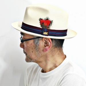 高級帽子ブランド・ビルトモアの本格ハットから、パナマ風の品の良いストローハットの登場です! パナマの...