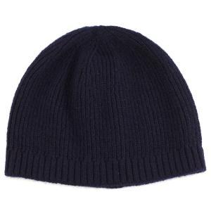 ニット帽 ショートワッチ カシミヤ100% 高級繊維 紺 ネイビー|elehelm-hatstore