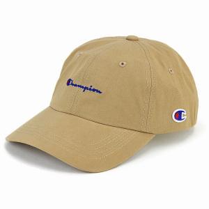 キャップ チャンピオン ローキャップ メンズ レディース カジュアル 帽子 スポーツ champion cap ベージュ|elehelm-hatstore