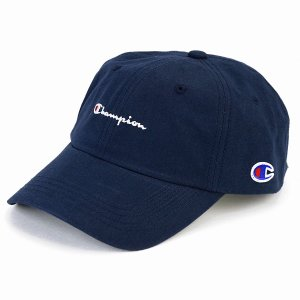 帽子 キャップ メンズ チャンピオン レディース ローキャップ カジュアル スポーツ champion cap 紺 ネイビー|elehelm-hatstore