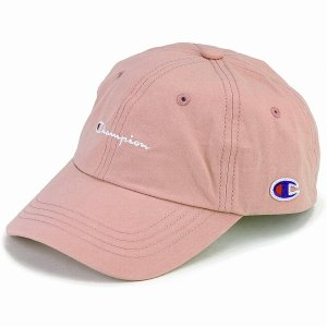 帽子 キャップ レディース ローキャップ カジュアル かわいい チャンピオン メンズ スポーツ champion cap ピンク|elehelm-hatstore