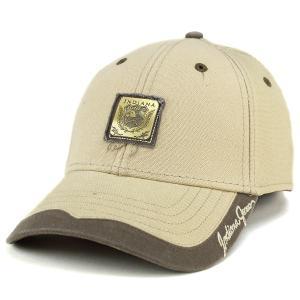 帽子 キャップ インディ・ジョーンズ コットン 綿 ベーシックデザイン カジュアル メンズ サンドカーキ|elehelm-hatstore