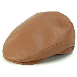 レザー ハンチング シープスキン KASZKIET カシュケット インポートブランド 帽子 メンズ キャメル