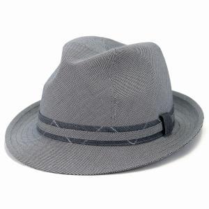中折ハット メンズ 大きい サイズ 千鳥格子 中折れ 帽子 春夏 カシュケット インポート ハット 綿 ポーランド製 style 1288 型 シルバーグレー Ver.2|elehelm-hatstore