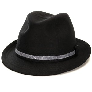 中折ハット メンズ インポート ハット 麻 父の日好適品 ポーランド製 style 1288 型 KASZKIET 大きい サイズ リネン 中折れ 帽子 春夏 カシュケット 黒 ブラック|elehelm-hatstore