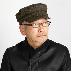 秋冬 マリンキャップ KASZKIET 帽子 メンズ レディース ヘリンボーン シェットランド ラム ウール カシュケット ギフト 緑 オリーブ|elehelm-hatstore