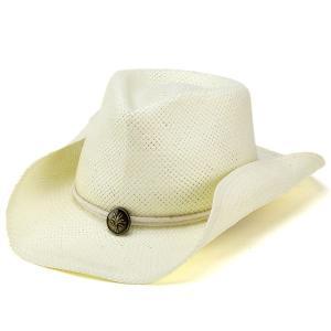 カウボーイハット メンズ ハット 夏 テンガロン 帽子 ウエスタン カジュアル ドーフマン ナチュラル ホワイト|elehelm-hatstore