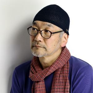 ニット ワッチ 春夏 メンズ 帽子 日本製 KNOX ショートワッチ ノックス 紳士 ニット帽 コットン100% 紺 ネイビー|elehelm-hatstore