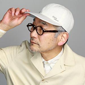 メンズ 帽子 日本製 KNOX 春夏 ノックス 涼しい キャップ レディース 野球帽 紳士 ベースボールキャップ サッカー生地 白 オフホワイト アイボリー|elehelm-hatstore