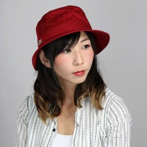 LACOSTE バケットハット ラコステ 帽子 サファリハット 赤 レッド|elehelm-hatstore