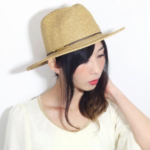 SCALA 春 夏 麦わら帽子 中折れ帽 ペーパーブレード 麦わら帽子 涼しい ハット メンズ スカラ サイズ調整 帽子 中折れ レディース ベージュ|elehelm-hatstore