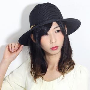 春 夏 SCALA 麦わら帽子 中折れ帽 ペーパーブレード 麦わら帽子 涼しい ハット メンズ スカラ サイズ調整 帽子 中折れ レディース 黒 ブラック|elehelm-hatstore