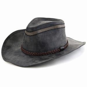 カウボーイハット フェイクレザー KennyK テンガロン ハット オールシーズン UV加工 LTC ケニーK ウエスタンハット つば広 メンズ レディース 帽子 黒/ブラック elehelm-hatstore