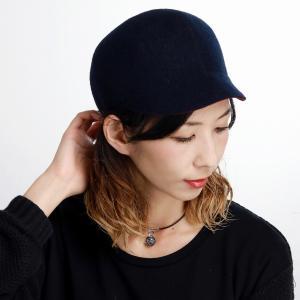 帽子 日本製 マズルカ CAP メンズ ウール 起毛 リバーシブル キャップ 秋冬 レディース Mazurek ネイビー|elehelm-hatstore