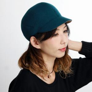 日本製 CAP マズルカ メンズ レディース キャップ リバーシブル 帽子 Mazurek ウール 起毛 秋冬 ブルー|elehelm-hatstore