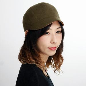 マズルカ リバーシブル キャップ 日本製 ウール 起毛 レディース 秋冬 帽子 メンズ Mazurek CAP カーキ|elehelm-hatstore