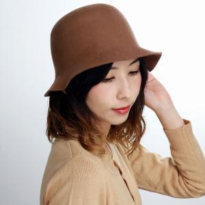 マズルカ 秋冬 クロッシェ 婦人 ハット レディース 日本製 帽子 Mazurek ウール キャメル elehelm-hatstore
