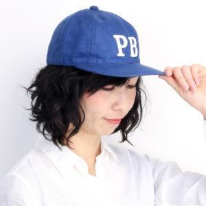 フレンチリネン cap サイコバニー 帽子 Psycho Bunny キャップ メンズ 春夏 キャンバス ブルー|elehelm-hatstore