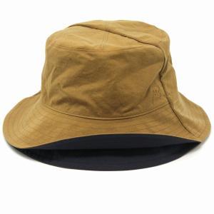 新型リバーシブル サハリハット 帽子 メンズ メゾン バース 春夏 MAISON Birth ナチュラル レディース サファリハット メンズ/ベージュ|elehelm-hatstore
