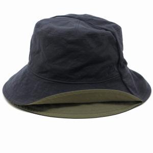 春夏 MAISON Birth ナチュラル 新型リバーシブル サハリハット 帽子 メンズ メゾン バース レディース サファリハット メンズ/紺 ネイビー|elehelm-hatstore
