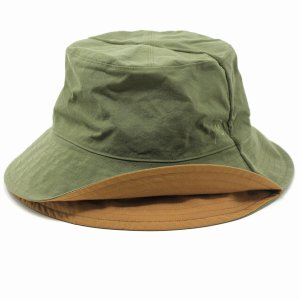 帽子 メンズ メゾン バース レディース 春夏 MAISON Birth ナチュラル 新型リバーシブル サハリハット サファリハット メンズ/オリーブ|elehelm-hatstore