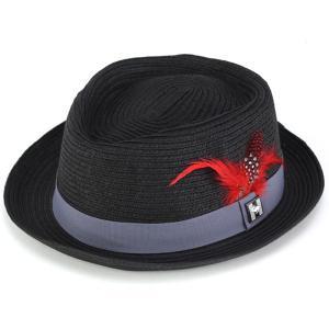 中折れ帽 ハット 子つば ピーターグリム メンズ 帽子 ミニマム 春 夏 pgf1409 MADISON ブラック|elehelm-hatstore