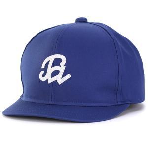 コットン ブランド CAP 春夏 メンズ 帽子 定番 アンパイアキャップ 日本製 racal/ブルー|elehelm-hatstore