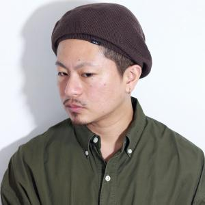 帽子 サマーニット レディース 春夏 racal ベレー メンズ ベレー帽 夏 ニットベレー帽 日本製 ニット帽 ニット メンズ サマーニット帽/ブラウン|elehelm-hatstore