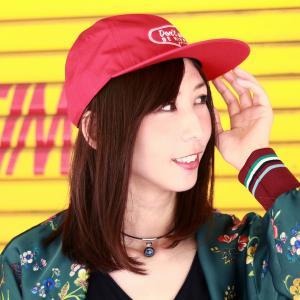 涼しい帽子 スケーターキャップ ベーシック オールシーズン メンズ モーテルCAP 帽子 CAP racal 日本製 ストリート ブランド/赤 レッド elehelm-hatstore