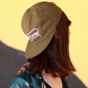 帽子 CAP racal 涼しい帽子 スケーターキャップ ベーシック オールシーズン メンズ モーテルCAP 日本製 ストリート ブランド/オリーブ elehelm-hatstore