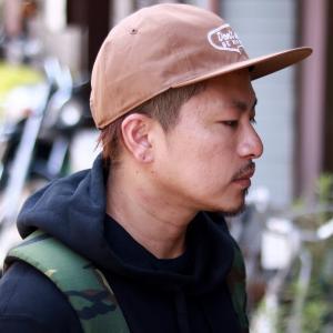 ベーシック オールシーズン メンズ モーテルCAP 日本製 帽子 CAP racal 涼しい帽子 スケーターキャップ ストリート ブランド/茶色 ブラウン elehelm-hatstore