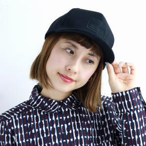 秋冬 コットン 定番アンパイアキャップ CAP ブランド キャップ メンズ 帽子 racal  日本製 ストリート/黒 ブラック|elehelm-hatstore