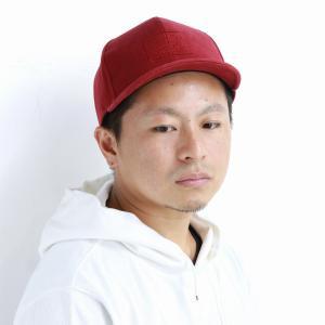 racal  日本製 ストリート CAP ブランド キャップ メンズ 帽子 秋冬 コットン 定番アンパイアキャップ/ワイン|elehelm-hatstore