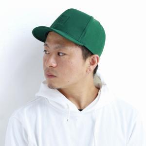 帽子 秋冬 コットン racal  日本製 ストリート CAP ブランド キャップ メンズ 定番アンパイアキャップ/緑 グリーン|elehelm-hatstore