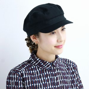 キャップ メンズ 帽子 racal  日本製 秋冬 modscap マリンキャップ CAP ブランド ウール カジュアル ワークキャップ メンズ/黒 ブラック|elehelm-hatstore