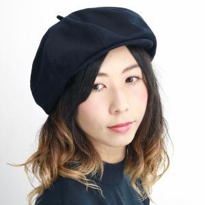 ベレー帽 メンズ キャスケット 帽子 racal 2way キャス 8パネル 秋冬 日本製 ブランド 光沢/紺 ネイビー|elehelm-hatstore