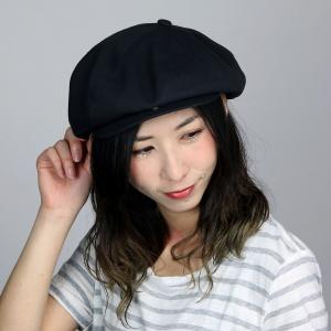 コットン キャス CAP ブランド ナチュラル メンズ 帽子 8パネル キャスケット 春夏 ツバ付 アシンメトリー racal  日本製 シンプル/黒 ブラック elehelm-hatstore