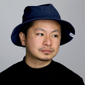 ハット 春夏 コットン ブランド ナチュラル サファリハット メンズ 帽子 racal  日本製 シンプル サハリハット 布帛 ヘンプ/紺 ネイビー|elehelm-hatstore